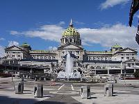 Capital of Pennsylvania in Harrisburg