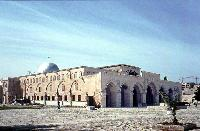 Al-Aqsa Mosque congregation building in the southern part of the Noble Sanctuary